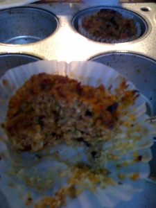 Pumpkin zucchini muffin PALEO!